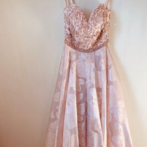 Pink Morilee Prom Dress